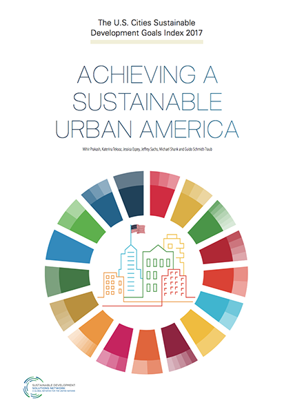 2017 U.S. Cities SDG Index cover