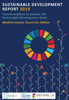 Sustainable Development Report 2019 – Mediterranean Countries Edition cover