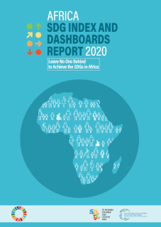 2020 Africa SDG Index and Dashboards Report cover